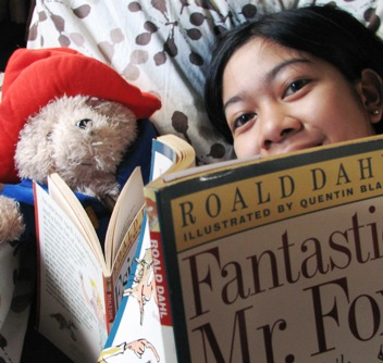(with my reading buddy Paddington)