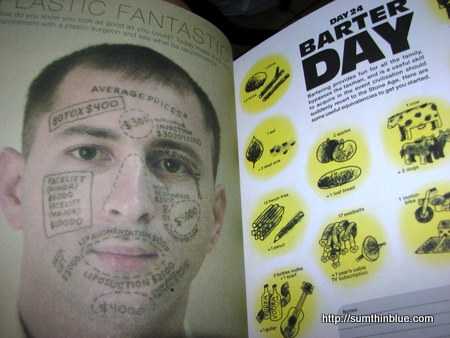 Get your face assessed at the plastic surgeons' or conduct transactions via barter