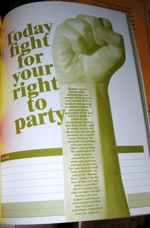 Fight for your right to party!