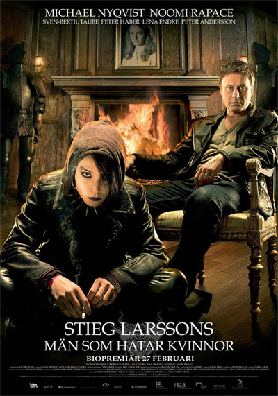 adaptation of The Girl with the Dragon Tattoo in English subtitles