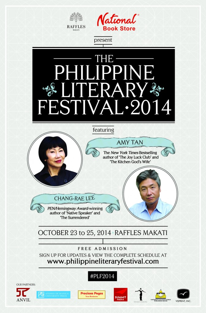Print Ad - The Philippine Literary Festival 2014 (6x30)