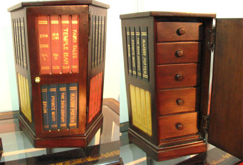 bookish chest of drawers