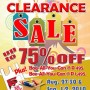 1st Scholastic Clearance Sale!