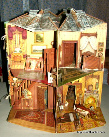 Victorian Doll House Bookmarked