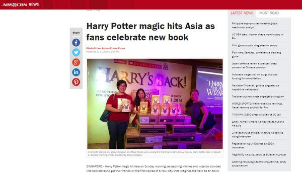 Harry Potter magic hits Asia as fans celebrate new book ABS-CBN News - Google Chrome 822016 103327 AM